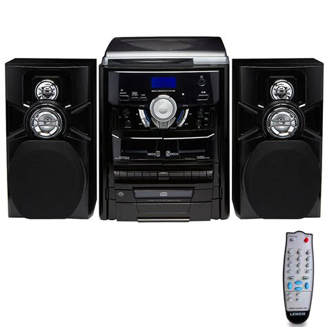 cassette radio player hi fi turntable vinyl lp 3 cd player dual cassette
