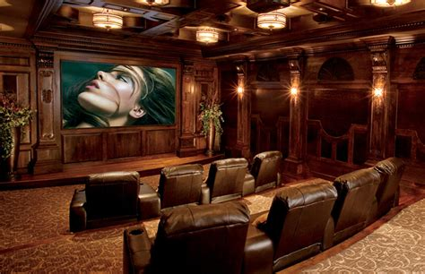 Home Theater High End high end theater room intellitech systems michigan smart home automation