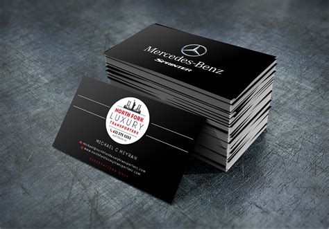 mercedes business card template mercedes business cards choice image business card
