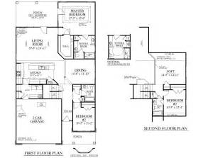 single story house plans with 2 master suites house plan 2224 kingstree floor plan traditional 1 1 2