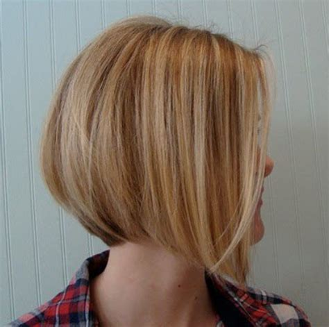 the swing short hairstyle short n the back and long in te frlnt at a angle side view of graduated bob cut short hairstyle for