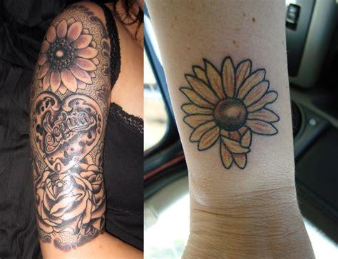 35 staggering sunflower tattoo designs creativefan 35 inspiring sunflower tattoo designs