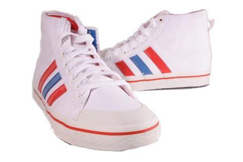 adidas white blue honey stripes mid sneakers womens shoes medium new ebay