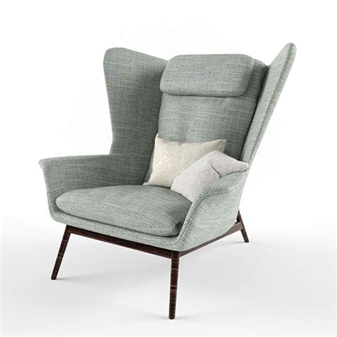 Boconcept Armchair by Boconcept Hamilton Armchair 3d Model By
