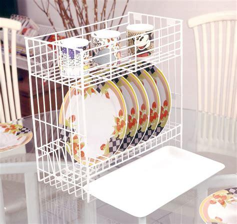 Rak Piring Plastik 2 Susun jual rak piring mini 2 susun tatakan b 30 med t