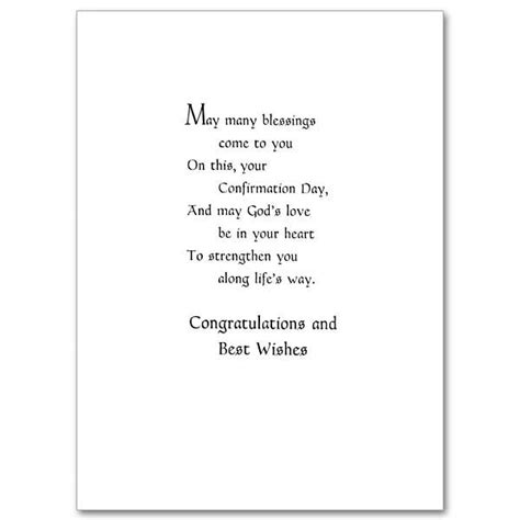 confirmation greeting card template on your confirmation confirmation card card wording
