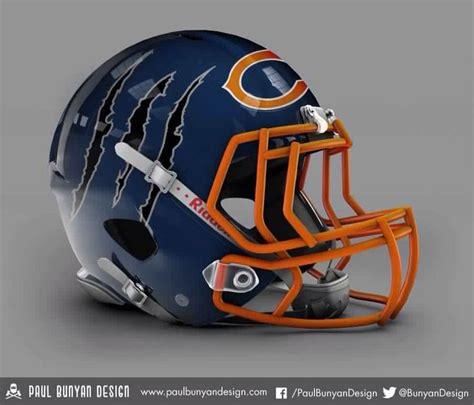 football helmet design history best 25 chicago bears helmet ideas only on pinterest