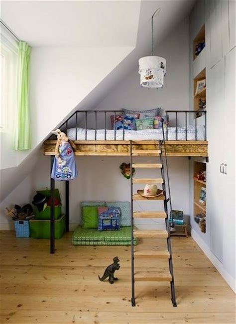 Bed Frame Stilts Loft Bed On Stilts For The Home Pinterest