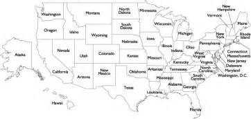 labeled map of america us state names outline map worldatlas