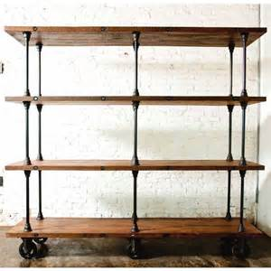 reclaimed wood shelving nuevo v16 shelving unit 82 75 in reclaimed wood at
