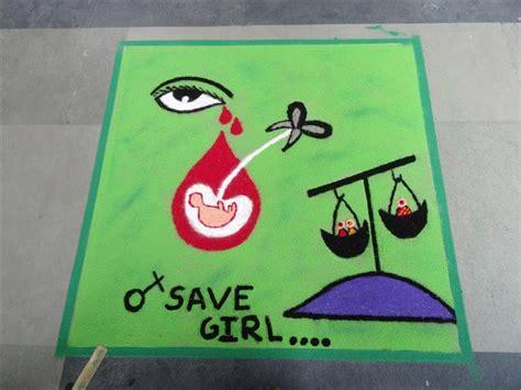 themes on save girl child save girl child rangoli www imgkid com the image kid