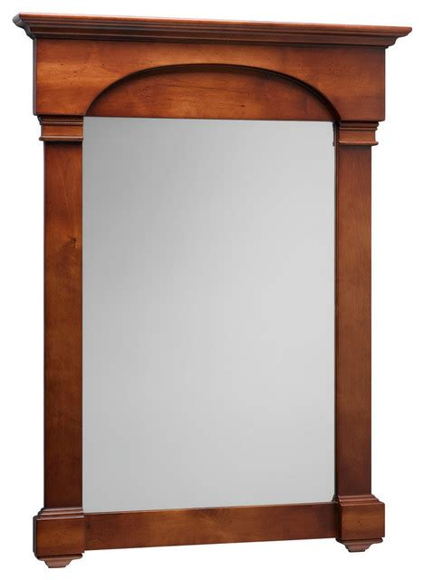 cherry wood bathroom mirror ronbow verona 30 quot x39 quot solid wood framed bathroom mirror