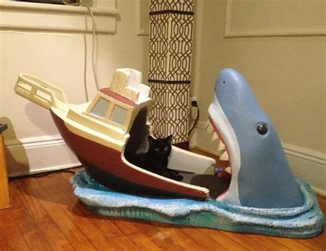 Cat Proof Baby Crib by Terrifyingly Jaws Inspired Crib Made By Creative