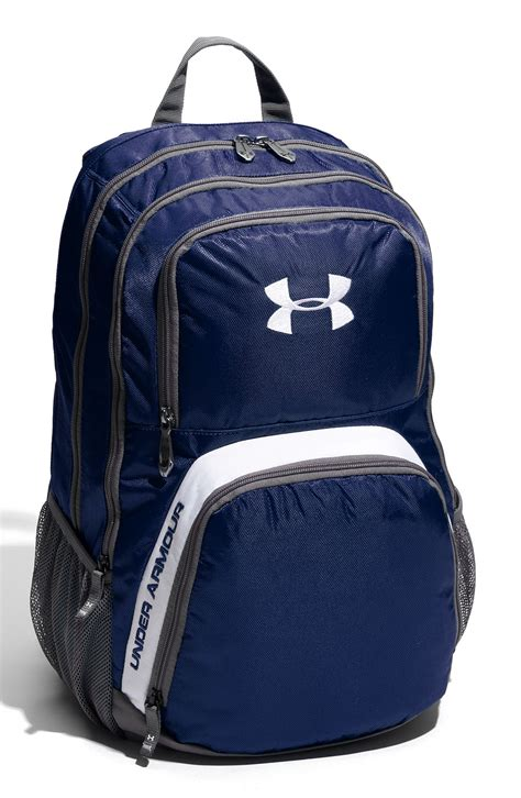 under armoir backpack under armour victory backpack in blue for men midnight