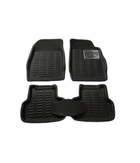 takecare 3d car floor mat black color for mahindra xuv 500