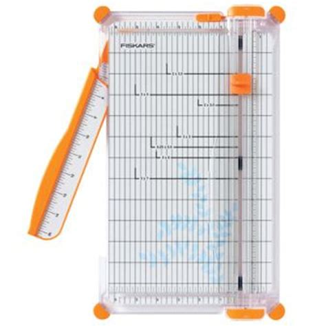 Craft Cutters Paper Trimmers - fiskars portable paper trimmer scrapbook guillotine office