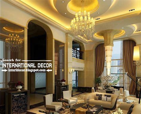 Luxury Ceiling Design by 15 Modern Pop False Ceiling Designs Ideas 2017 For Living Room