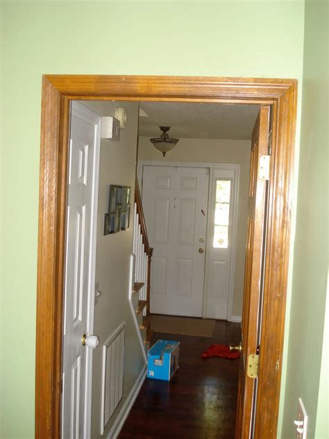 white trim with wood doors floor project painting wood trim doors white
