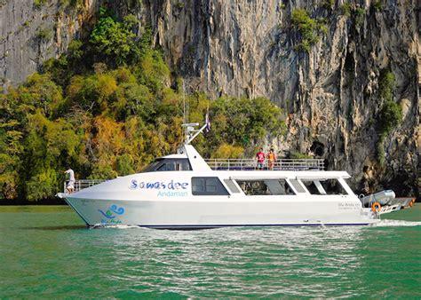 catamaran day trip phuket phuket catamaran boat phi phi island semplice phuket tours