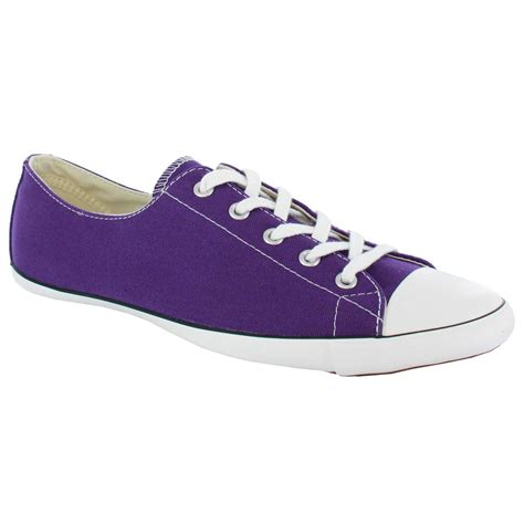 purple converse shoes converse all light ox light purple womens shoes ebay