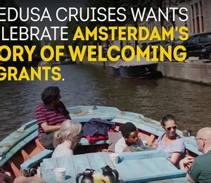 refugee boat tour amsterdam public interest adv urban contest 174 magazine arts