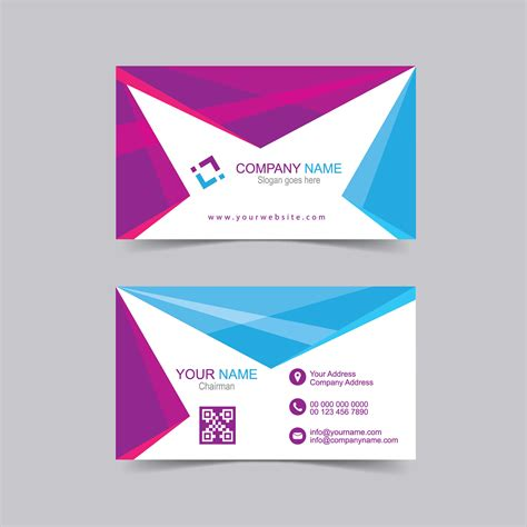 free visiting card design template visiting card vector template free wisxi