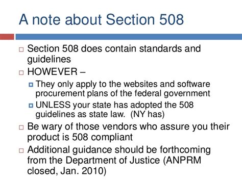 department of justice disability rights section ud for education tech