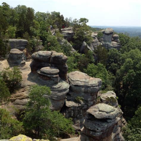 Garden Of The Gods Rock Formations Garden Of The Gods Saline County Illinois Rock Formations At