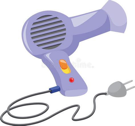 Hair Dryer Vector Free hair dryer stock vector illustration of single picture