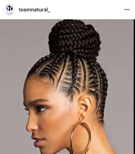 pin up med braids 25 b 228 sta thick cornrows hairstyles id 233 erna p 229 pinterest