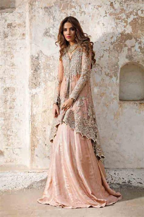 Wedding Dress Design Book by Bridal Peplum Tops With Lehenga Designs 2018