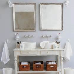 French Country Home Decor Catalogs white sink units for bathroom in french farmhouse style
