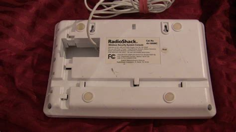 radio shack 49 1000mc wireless home safety security system