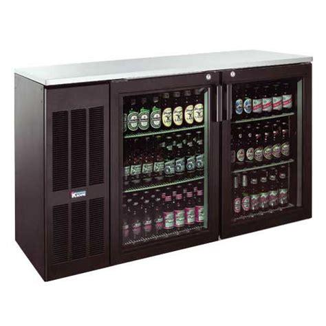 Back Bar Coolers With Glass Doors Krowne Metal Bs60l Gnb Lr 60 Quot Glass Door Back Bar Cooler