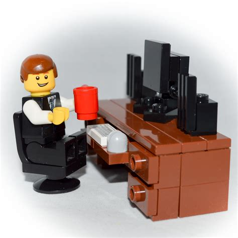 Lego Desk by Lego Furniture Computer Desk Set W Keyboard Monitor Mouse