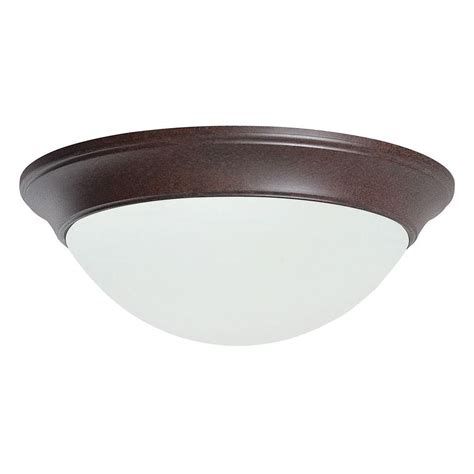 luminance rowley 3 light bright satin nickel flush mount