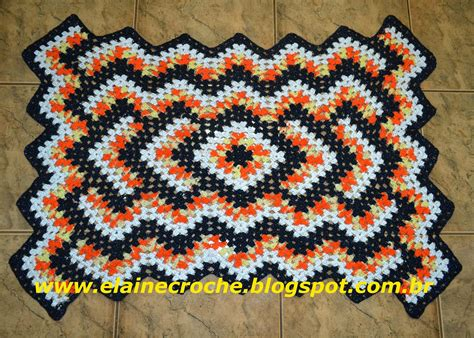 tapete croche on pinterest throw rugs crochet rugs and tapete de tapetes de croch 202 on pinterest crochet rugs crochet