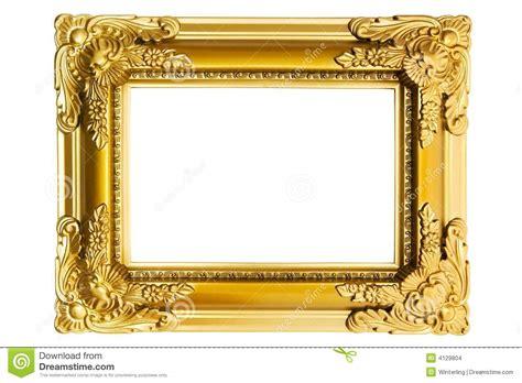 imagenes de marcos dorados marco pl 225 stico dorado foto de archivo imagen de