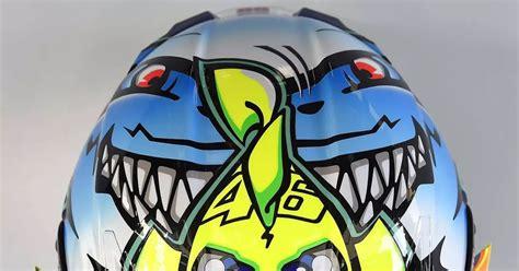 Helm Replika Airbrush helm airbrush replika helm valentino nemo versi