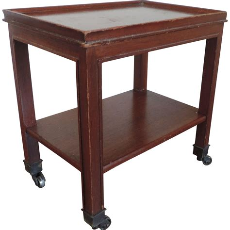small mahogany chloe accent small mahogany two tier occasional or caddy on