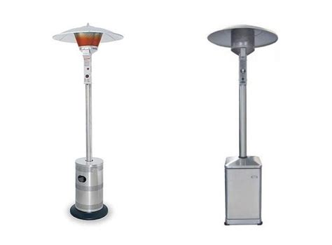 Taking The Chill Off Patio Heaters Gardenista Dcs Patio Heaters