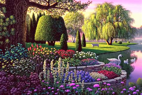secret flowers flower fairies secret garden moss landscape fairytale