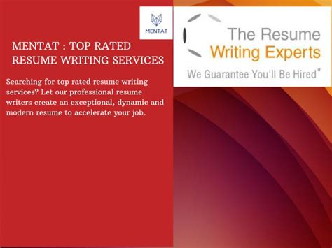 Resume Writing Powerpoint Ppt Top Resume Writing Services Powerpoint