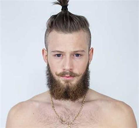 ponytails for balding men giving the barber a miss fuzzy s premium beard balm