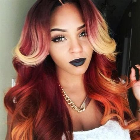 coloured hair extensions hairstyles 20 weave hairstyles for black women