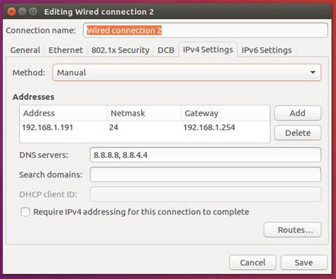 ubuntu manual dns entry how to prevent ubuntu from overwriting etc resolv conf