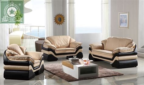 modern leather living room furniture buy high quality living room furniture european modern