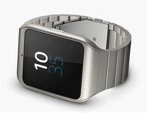 Sony Smartwatch 3 Rubber Hitam Sony S Smartwatch 3 Gets Stylish Stainless Steel Makeover