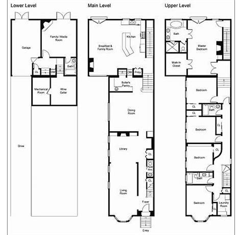 san francisco house plans san francisco townhouse floor plans