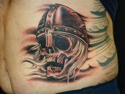 viking skull tattoos 31 viking skull designs and images ideas